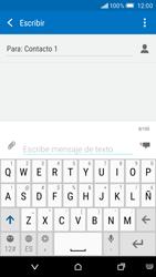 Envía fotos, videos y audio por mensaje de texto - HTC One M9 - Passo 8