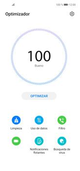 Cómo usar la función Optimizar - Huawei P40 Lite - Passo 3