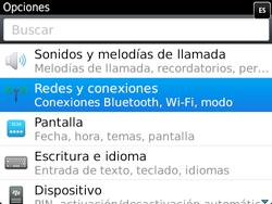 Configura el WiFi - BlackBerry Bold 9720 - Passo 4