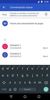 Envía fotos, videos y audio por mensaje de texto - Motorola Moto G6 Plus - Passo 4