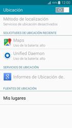 Uso de la navegación GPS - Samsung Galaxy A5 - A500M - Passo 19