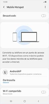 Configura el hotspot móvil - Samsung Galaxy A10 - Passo 11