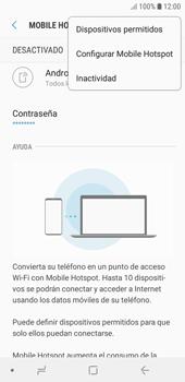 Configura el hotspot móvil - Samsung J6 - Passo 8