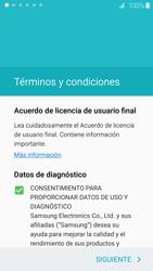 Activa el equipo - Samsung Galaxy S6 - G920 - Passo 6