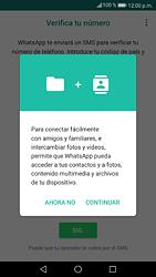 Configuración de Whatsapp - Huawei P9 Lite 2017 - Passo 5