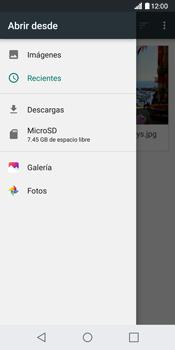 Envía fotos, videos y audio por mensaje de texto - LG G6 - Passo 16