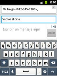 Envía fotos, videos y audio por mensaje de texto - Samsung Galaxy Y  GT - S5360 - Passo 10