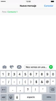 Envía fotos, videos y audio por mensaje de texto - Apple iPhone 7 Plus - Passo 8