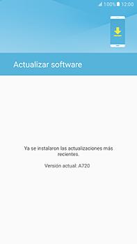 Actualiza el software del equipo - Samsung Galaxy A7 2017 - A720 - Passo 8