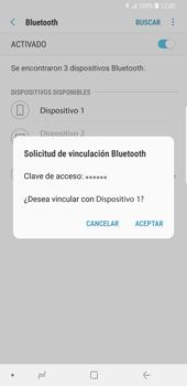 Conecta con otro dispositivo Bluetooth - Samsung Galaxy S9 Plus - Passo 8