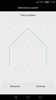 Desbloqueo del equipo por medio del patrón - Huawei Mate S - Passo 7