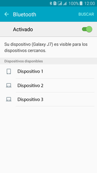 Conecta con otro dispositivo Bluetooth - Samsung Galaxy J7 - J700 - Passo 6