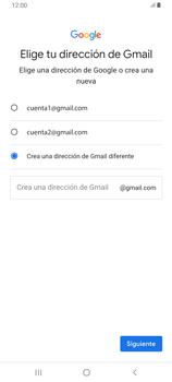 Crea una cuenta - Samsung Galaxy A80 - Passo 10
