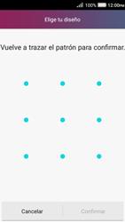 Desbloqueo del equipo por medio del patrón - Huawei Y3 II - Passo 8