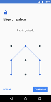 Desbloqueo del equipo por medio del patrón - Motorola Moto G6 Plus - Passo 8