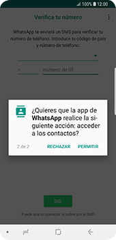 Configuración de Whatsapp - Samsung Galaxy S9 - Passo 7