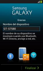 Activa el equipo - Samsung Galaxy Trend Plus S7580 - Passo 17
