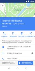 Uso de la navegación GPS - Motorola Moto E5 Play - Passo 8