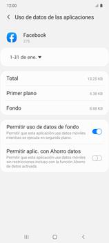 Verificar el uso de datos por apps - Samsung Galaxy S10 Lite - Passo 7