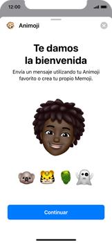 Enviar Animoji - Apple iPhone XS - Passo 8