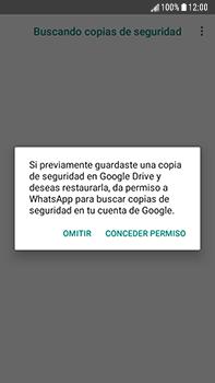 Configuración de Whatsapp - Samsung Galaxy J7 Prime - Passo 12