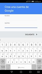 Crea una cuenta - Huawei P9 Lite 2017 - Passo 4
