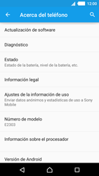 Actualiza el software del equipo - Sony Xperia M4 Aqua E2303 - Passo 6