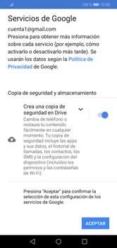 Crea una cuenta - Huawei Y7 2019 - Passo 17
