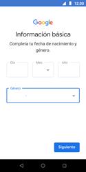 Crea una cuenta - Motorola Moto E5 Play - Passo 9