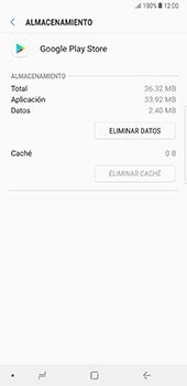 Limpieza de aplicación - Samsung Galaxy Note 8 - Passo 7