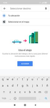 Uso de la navegación GPS - Xiaomi Redmi Note 7 - Passo 12