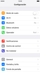 Personalizar notificaciones - Apple iPhone 7 - Passo 2