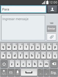 Envía fotos, videos y audio por mensaje de texto - LG L20 - Passo 4