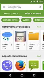 Instala las aplicaciones - Sony Xperia XZ Premium - Passo 8