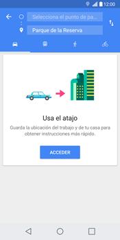 Uso de la navegación GPS - LG G6 - Passo 13