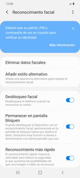 Cómo configurar el Face ID - Samsung Galaxy S20 - Passo 15