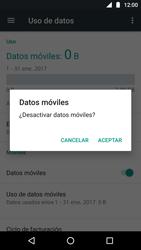 Desactiva tu conexión de datos - Motorola Moto G5 - Passo 5