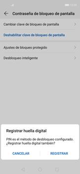 Cómo cambiar el código de bloqueo de pantalla de tu teléfono - Huawei Nova 5T - Passo 8