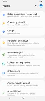 Realiza una copia de seguridad con tu cuenta - Samsung Galaxy A80 - Passo 4