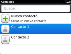 ¿Tu equipo puede copiar contactos a la SIM card? - BlackBerry Curve 9320 - Passo 4