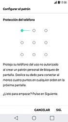 Desbloqueo del equipo por medio del patrón - LG G5 SE - Passo 7