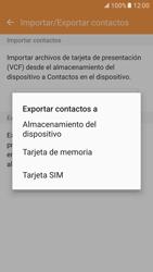 ¿Tu equipo puede copiar contactos a la SIM card? - Samsung Galaxy S7 - G930 - Passo 8