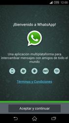 Configuración de Whatsapp - Sony Xperia Z2 D6503 - Passo 4