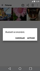 Transferir fotos vía Bluetooth - LG K10 2017 - Passo 9