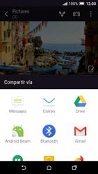 Transferir fotos vía Bluetooth - HTC One A9 - Passo 8