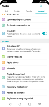 Actualiza el software del equipo - LG G7 Fit - Passo 5