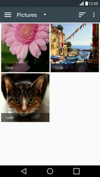 Envía fotos, videos y audio por mensaje de texto - LG V10 - Passo 17