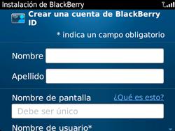 Crea una cuenta - BlackBerry Bold 9720 - Passo 10