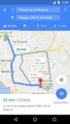 Uso de la navegación GPS - Motorola Moto G5 - Passo 17