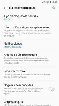 Desbloqueo del equipo por medio del patrón - Samsung Galaxy J7 Prime - Passo 12